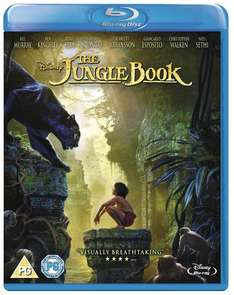 3 Disney/Marvel Blu-Ray's for £22.50 (Using Code) @ Zoom [Titles Include: The Jungle Book (Live Action), Star Wars The Force Awakens, Zootropilis, Alice Through the Looking Glass]