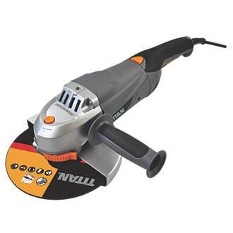 "Titan TTB283GRD 2350W 9"" Angle Grinder 230V - £49.99 @ Screwfix"