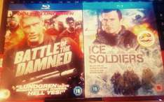 Poundland Blu Rays - Battle of the Damned and Ice Soldiers £1