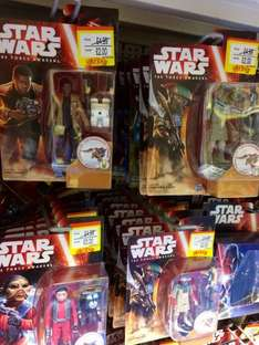 Star Wars The Force Awakens figures (inc Kylo Ren, Finn) £2 each @ Smyths