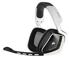 Corsair Gaming CA-9011145-EU VOID Wireless Dolby 7.1 Comfortable PC Gaming Headset - White £76.99 @ Amazon