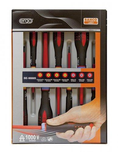 Bahco 9888S BE-9888s VDE Ergo Slot/Pozi Screwdriver Set (7 Pieces) £26.99 amazon