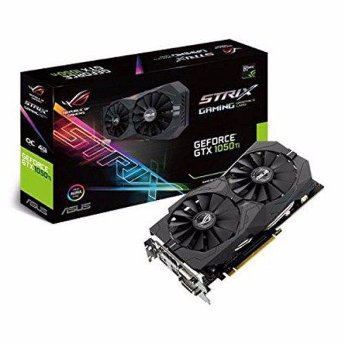 Asus NVIDIA GeForce GTX 1050 Ti 4GB STRIX OC GAMING Graphics Card £175.98 @ Ebuyer