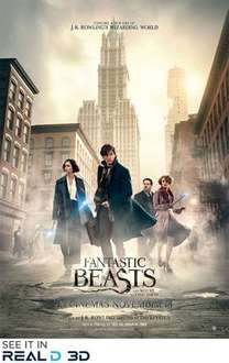 Show Film First:Fantastic Beasts and Where to Find Them 15/11/16