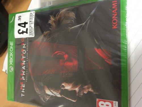 Metal Gear Solid V - HMV £4.99
