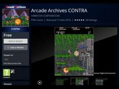 Arcade archives contra for PS4 free grab it quick psn.