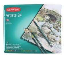 Derwent Artists Colouring Pencil set of 24 for £13.99 and 36 for £19.95 @ Amazon (free delivery for Prime members or on orders over £20)