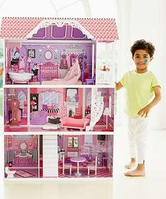 Luxury Manor Doll House was £160 now £54 with code NRWY @ ELC