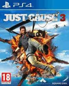 just cause 3 (ps4/xbox one) preowned £14.99 @ GAME