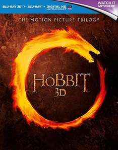 The Hobbit Trilogy - 3D Blu-Ray - Complete Box Set, £15.90 (Prime) £17.89 (Non Prime) at Amazon