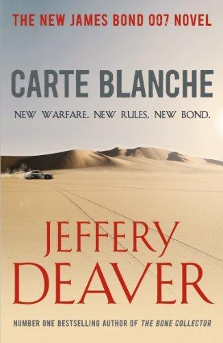 Jeffrey Deaver / James Bond Novel - Carte Blanche @ Amazon Kindle Store for 99p