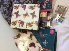 Wilko Botanica Folders, Pens, Notebooks Heavily Reduced (starts from 20p)