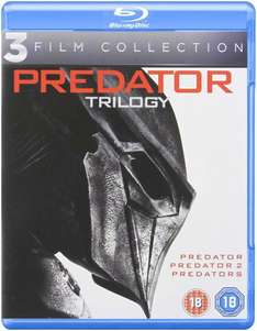 Predator Trilogy - Blu-Ray - £5 (Prime) £6.99 (Non Prime) @ Amazon