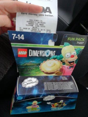 lego dimensions crusty clown fun pack - £7 instore @ ASDA