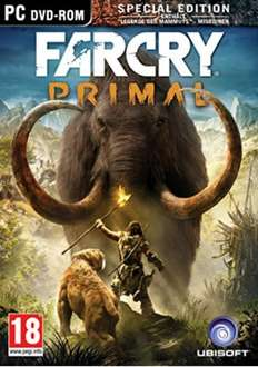 Far Cry Primal PC - CD Keys (£14.49 or £13.77 with the 5% Facebook code)