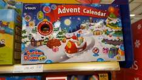 Vtech Advent Calendar @ Tesco. £16.45