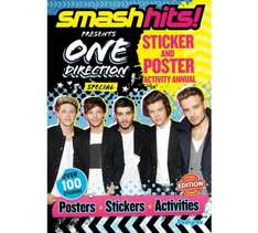 Argos - One direction sticker/poster annual - 9p