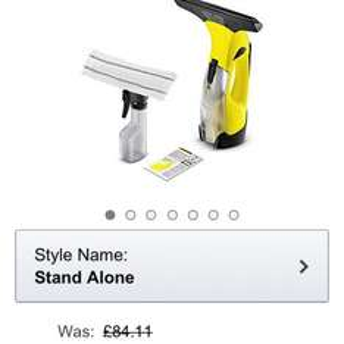 £41.19 Kärcher WV5 Plus - 3rd Generation Window Vacuum Cleaner @ Amazon