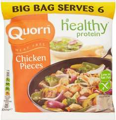Quorn Meat Free Pieces (500g) was £2.79 now £1.50 @ Tesco