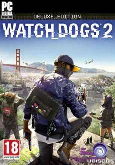 Watch_Dogs 2 Standard/Deluxe Edition uPlay version £31.99 at GreenMan gaming with account/code