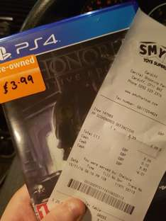 Dishonored Definitive Edition (PS4) - £3.99 instore @ Smyths