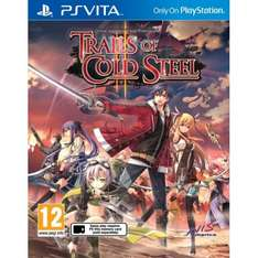 Trails of Cold Steel 2 Ps Vita 365games.co.uk
