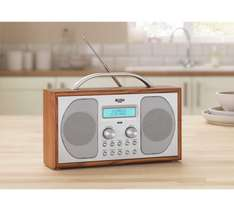 Bush wooden DAB radio great reviews snooze & sleep timer lots of features was £49.99 now £24.99 1/2 price @ Argos