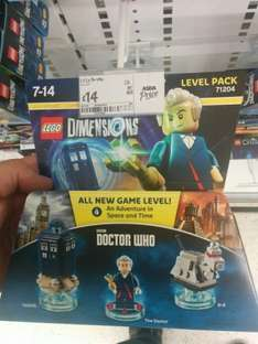 LEGO Dimensions Doctor Who Level Pack £14 instore at Asda.