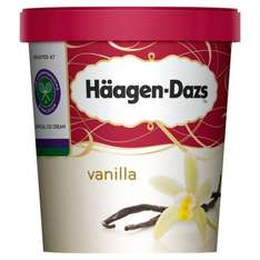 Various Haagen-Dazs Ice Cream 500ml £2 reduced from £4.42 @ Morrisons