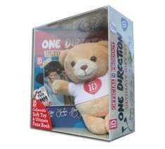 One Direction Book and Soft Toy Gift Set 9p Argos