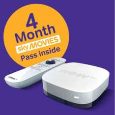 NOW TV Box + 4 month Sky Movies Pass £14.99 @ GAME.co.uk