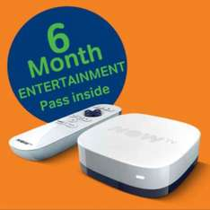 NOW TV Box + 6 month Entertainment Pass £14.99 @ GAME.co.uk