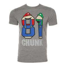 Chunk t-shirt £6.20 on Amazon UK. Free delivery.