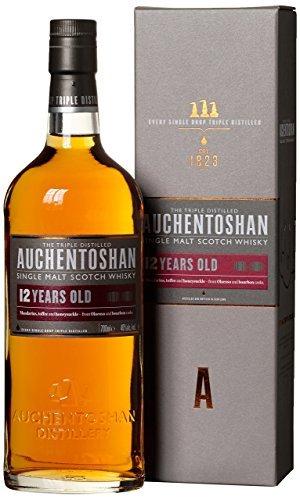 Auchentoshan 12 Year Old Single Malt Scotch Whisky, 70 cl  £27.19 @ Amazon UK