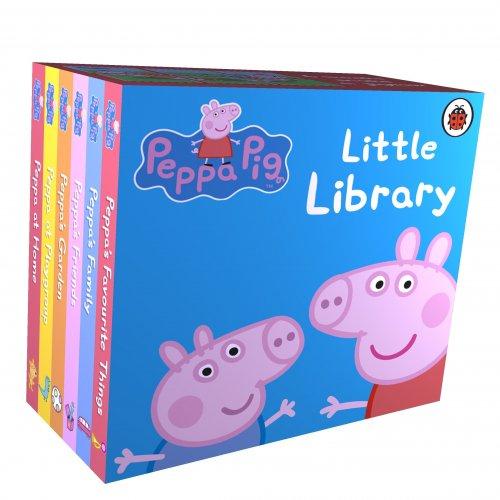 Peppa Pig Library 6 Mini books Half Price £2.49 (Prime) £5.48 (Non Prime) @ Amazon