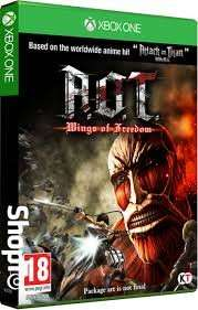 Attack on titan wings of freedom inc mikasa costume dlc Xbox one & PS4 - £19.85 Shopto