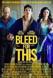 Bleed For This Free film screening Tuesday November 29th 2016