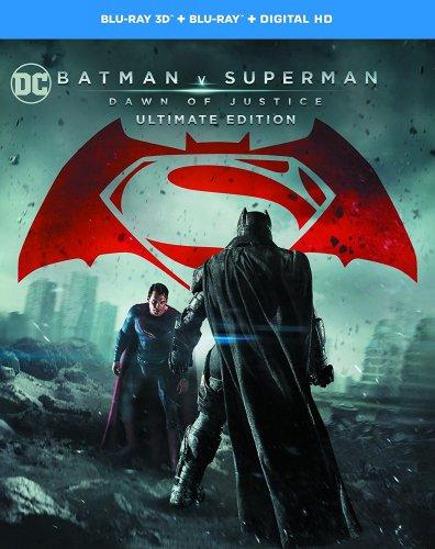 Batman v Superman: Dawn of Justice 3D Blu Ray £10.99 Amazon Prime- NON £12.98