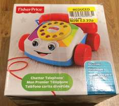 Fisher Price Chatter Telephone Reduced to £2.22 @ Tesco instore Elmers End