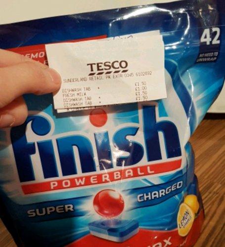 Finish Powerball 42 pack - £1.50 instore at Tesco