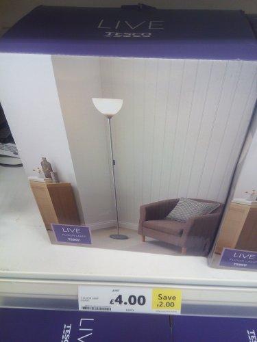 Tesco floor standing up lighter only £4 instore