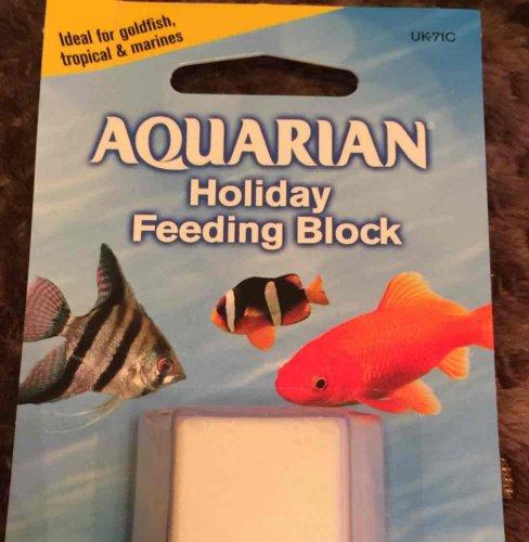 Aquarian holiday feeding block - 76p @ Tesco instore