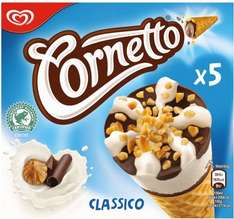 Cornetto 5 Classico Ice Cream Cones was £2.25 now any 2 packs for £3.00 @ Asda