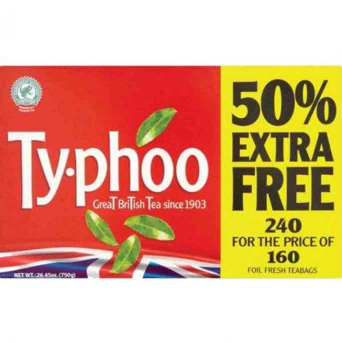 Typhoo 240 tea bags £2.49 @ Poundstretcher