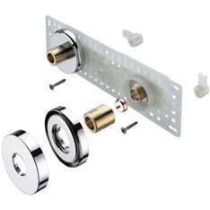 Bristan 11 Wall Mounted Shower Fixing Kit - £14.14 from Homebase