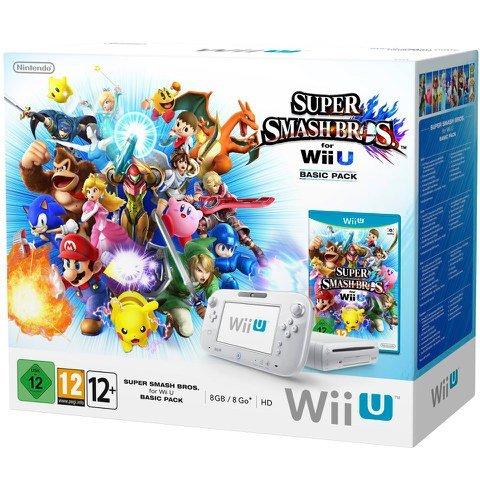 Wii U Basic + Super Smash Bros for Wii U £179.99 @ Nintendo Store