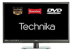 """Technika Refurbed 22E21B-FHD/DVD 22"""" Slim LED TV Full HD 1080p DVD Combi With Freeview £75 @ Tesco Ebay Outlet"""