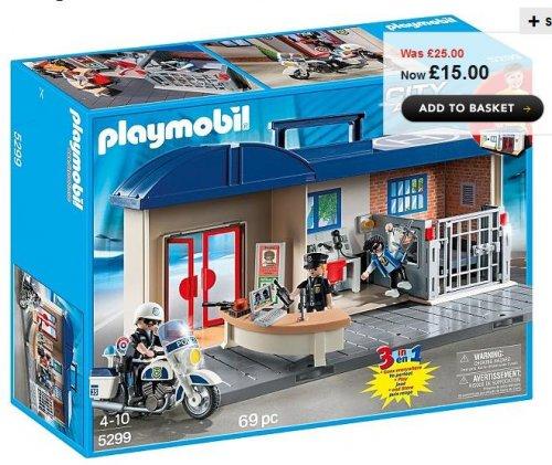 Playmobil Take Along Police Station £15 ASDA (Free C&C)