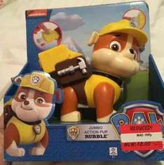 Paw Patrol Jumbo action pup - RUBBLE at Asda (instore) for £8