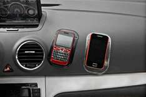 Non Slip Super Sticky PU Anti - Skidding Car Matt for Dashboard  -  TRANSPARENT £0.67p Delivered! GEARBEST